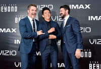 Chris Pine, John Cho and Karl Urban