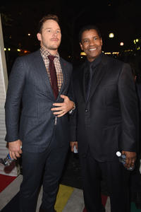 Chris Pratt and Denzel Washington