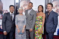 Jacob Latimore, Helen Mirren, Will Smith, Naomie Harris and Ed Norton