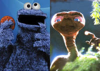 Cookie Monster vs. E.T.