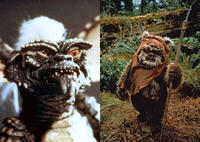 The Gremlins vs. The Ewoks