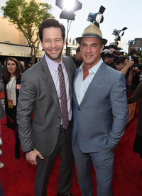 Ike Barinholtz and Christopher Meloni