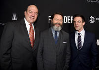 John Carroll Lynch, Nick Offerman and B.J. Novak