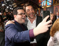 Josh Gad and Javier Bardem