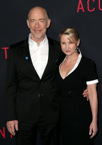 J.K. Simmons and Michelle Schumacher