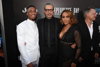 Jessie Usher, Jeff Goldblum and Vivica A. Fox