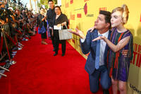 Ken Marino and Mckenna Grace