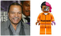 The LEGO Batman Movie Two-Face Billy Dee Williams
