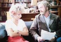 Julie Walters and Michael Caine in Educating Rita