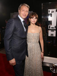 Mads Mikkelsen and Felicity Jones