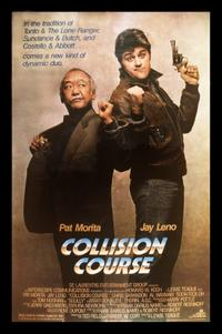 Jay Leno and Pat Morita in Collision Course