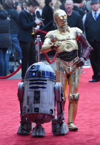 R2-D2 and C-3PO characters