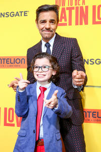 Raphael Alejandro and Eugenio Derbez