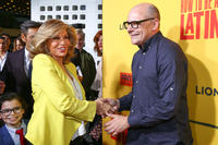 Raquel Welch and Rob Corddry