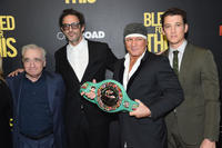 Martin Scorcese, Ben Younger, Vinny Pazienza and Miles Teller