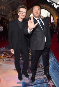 Scott Derrickson and Benedict Wong