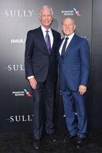 Chesley 'Sully' Sullenberger and Frank Marshall