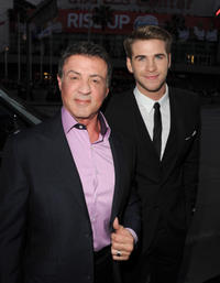 The Hunger Games Sylvester Stallone Liam Hemsworth