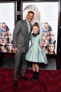 Will Smith and Kylie Rogers