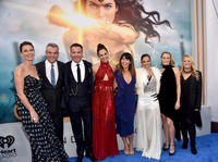 Connie Nielsen, Danny Huston, Chris Pine, Gal Gadot, Patty Jenkins, Elena Anaya, Robin Wright and Lucy Davis