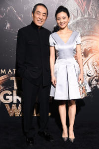 Zhang Yimou and Chen Ting