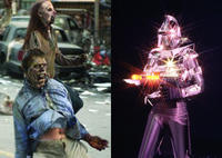 George Romero's Zombies vs. The Original Cylons
