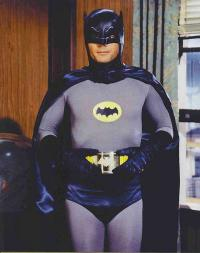 Adam West as Bruce Wayne/Batman in Batman: The Movie (1966)