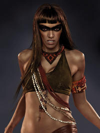 Amazon Coven: Zafrina (Judith Shekoni)