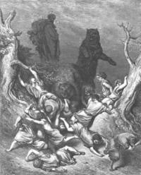 Elisha and His Bear Bodyguards