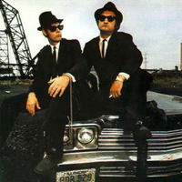 Dan Aykroyd and John Belushi in