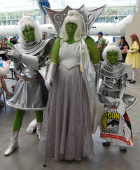 Comic-Con '08: Martian Family