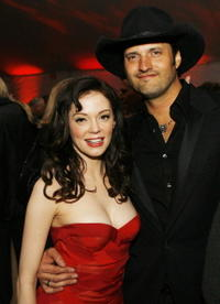Rose McGowan & Robert Rodriguez