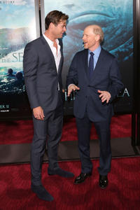 Chris Hemsworth and the director Ron Howard