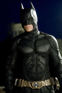 Christian Bale as Bruce Wayne / Batman in Batman Begins and The Dark Knight