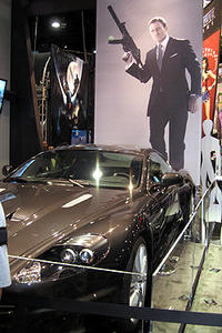 Comic-Con '08: 007's Ride