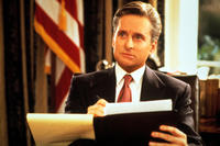 Michael Douglas as Andrew Shepherd - The American President