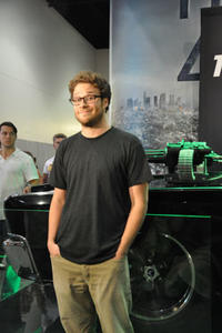 Seth Rogen, and His Vehicle