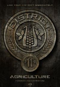 The Hunger Games District Seals