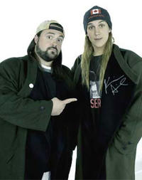 Kevin Smith and Jason Mewes in