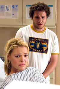 Mismatched Couple #3. Knocked Up - Katherine Heigl and Seth Rogen