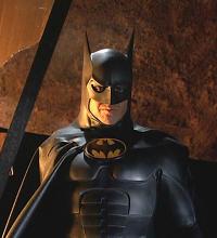 Michael Keaton as Bruce Wayne/Batman in Batman (1989) and Batman Returns (1992)