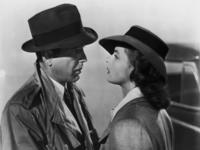 Humphrey Bogart and Ingrid Bergman Casablanca
