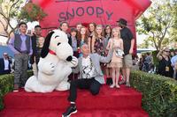 The Peanuts Movie cast.