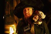 Geoffrey Rush in Pirates of the Caribbean