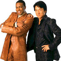 Chris Tucker and Jackie Chan in