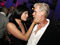 Selma Blair and Ron Perlman