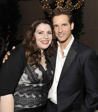 Stephenie Meyer and Peter Facinelli