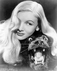 Veronica Lake, in Anything