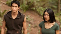 Booboo Stewart & Julia Jones / Seth and Leah Clearwater