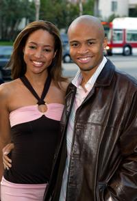 Cathy Jeneen Doe and Eugene Byrd at the screening of